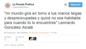 Tweet Parada Poética
